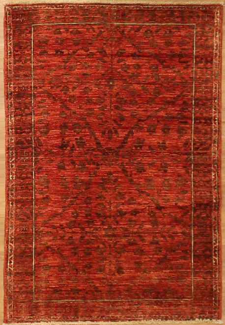 3'2 x 4'8 Transitional design Rug