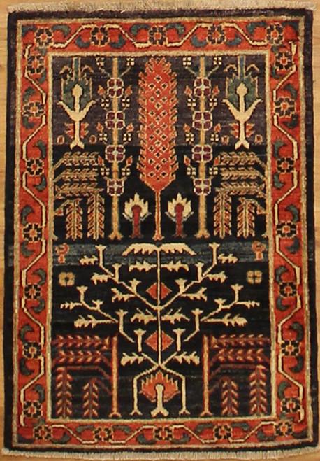 2' x 2'11 Woven Area rug