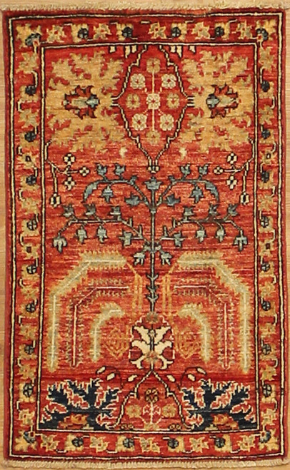1'9 x 2'11 Traditional design rug