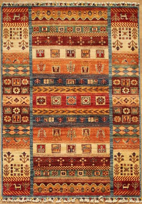 3'5 x 4'10 Modern design geometric rug