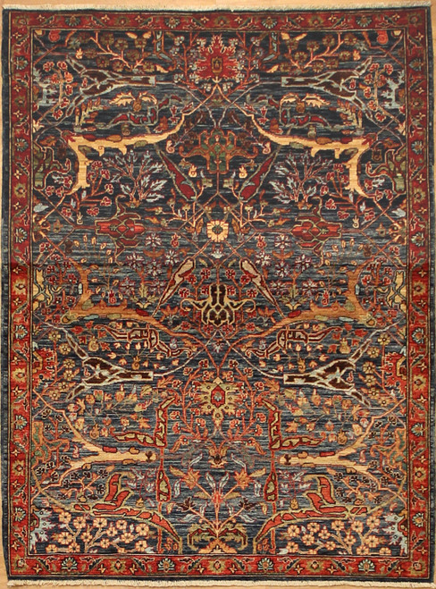 4'3 x 5'10 Antique Bijar Design rug