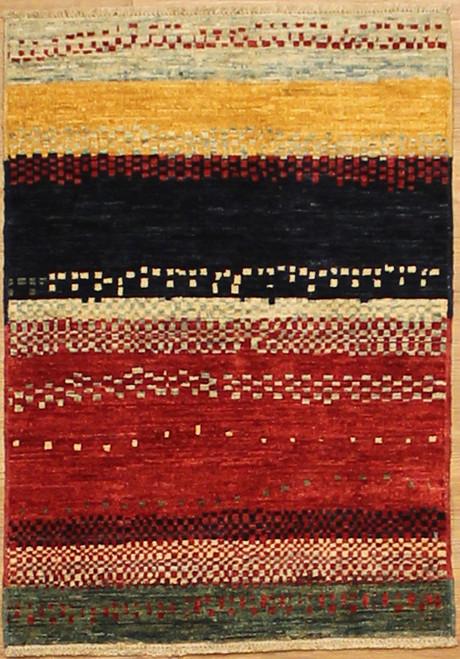 2' x 2'10 colorful Modern design rug
