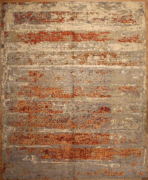 7'11 x 9'11 Indigo Collection Modern design rug