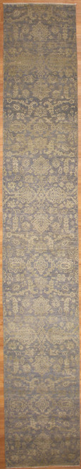 2'6 x 15'9 Pearl Collection Modern design runner