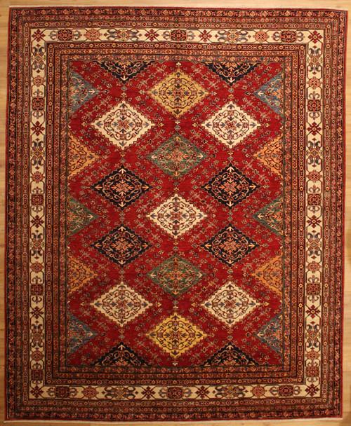 8'2 x 10' Caucasian design rug