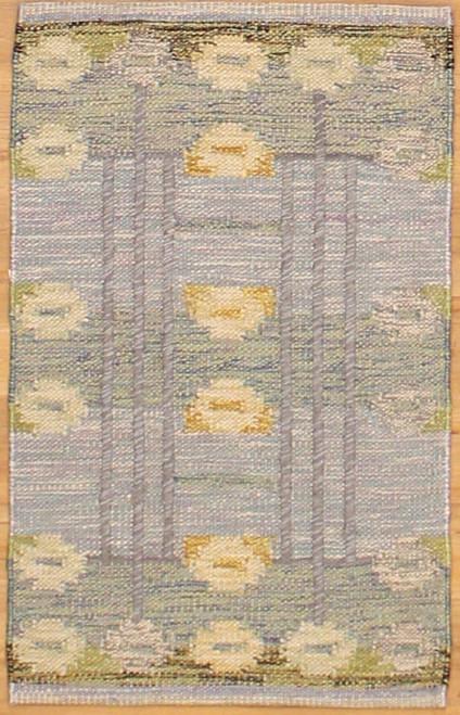 Swedish Kilim -Flat weave 2' x 3'