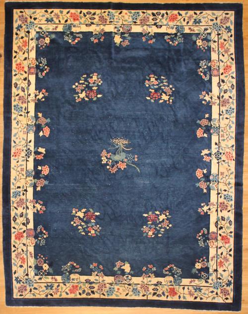 9' x 11'5 Antique Chines rug