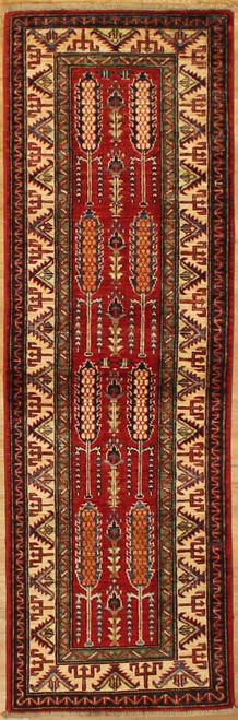 1'11 x 5'11 Caucasian design rug
