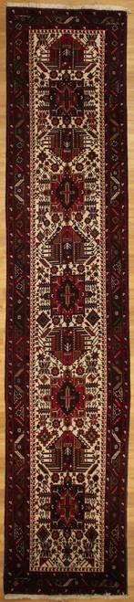 3'1 x 14'10 Persian Heriz Runner