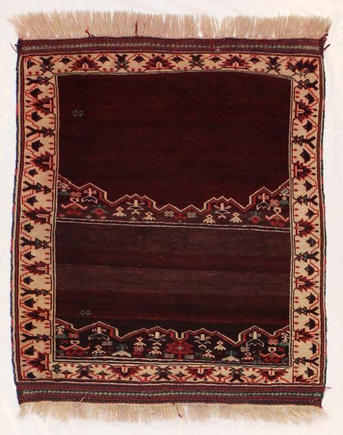Afghan Baluch area rug 3'5 x 4'1