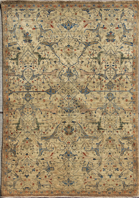 5' x 7' Overall design light color Rug