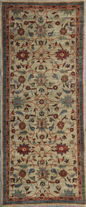 2'10 x 6'9 Mahal Design rug