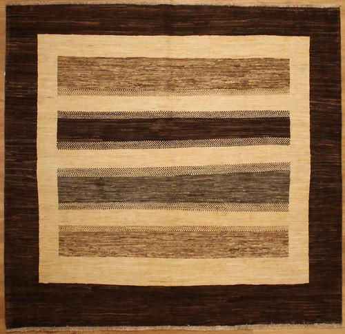 6'5 x 6'8 Gabbeh style rug