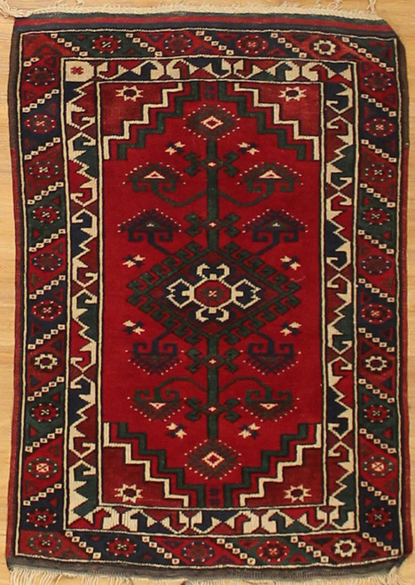 2'6 x 3'6 Small Turkish Rug