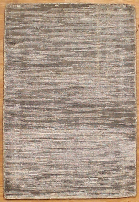 2' x 2'11 Gray color rug