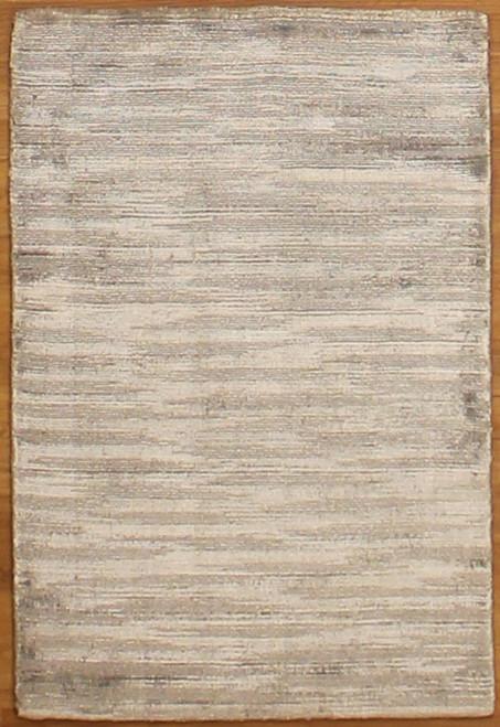2' x 2'11 Gray Rug