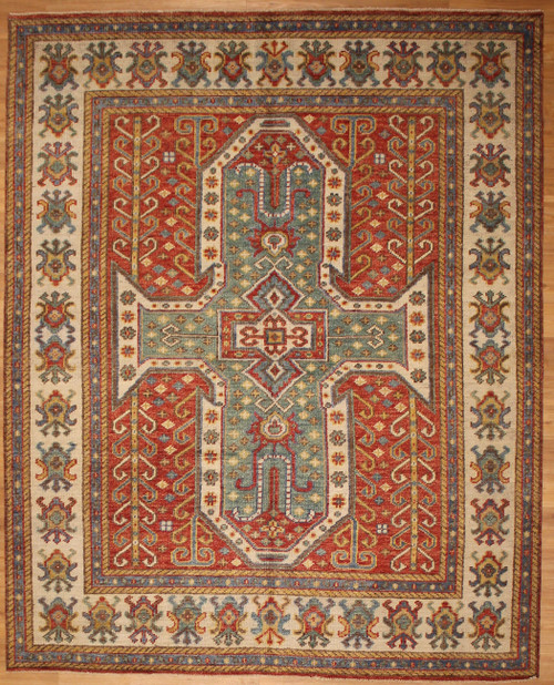 8' x 9'10 Traditional design Room size rug