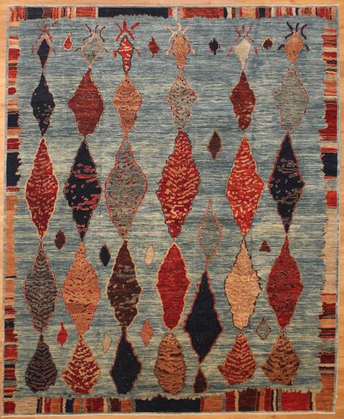 Gabbeh style rug 8' x 9'9
