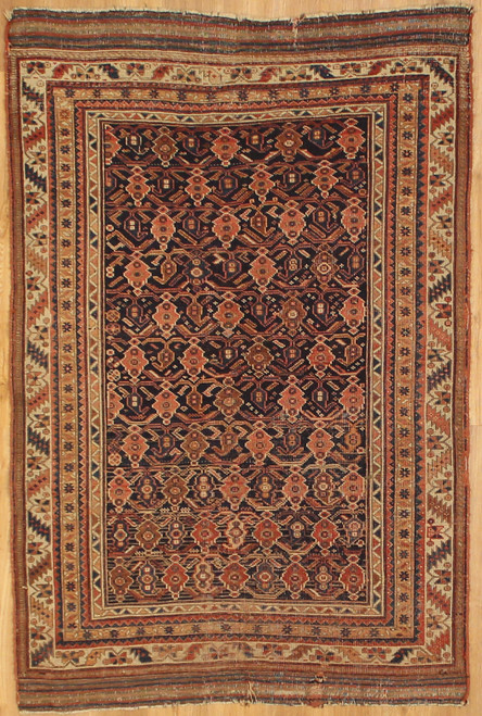 Antique Persian Afshar 3'11 x 5'10