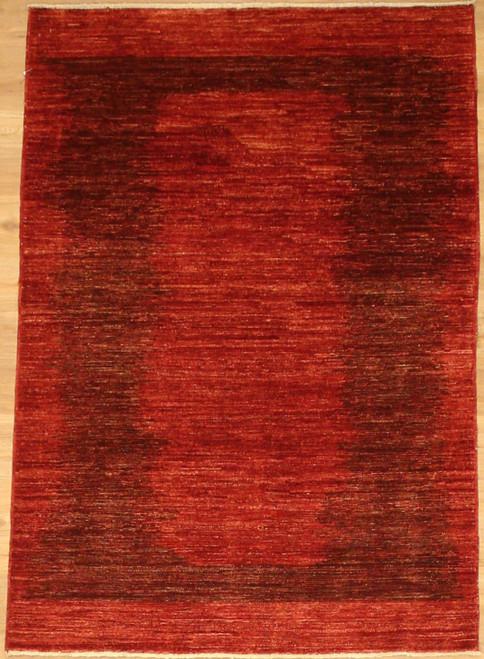 Modern design Gabbeh Style rug 4' x 5'10