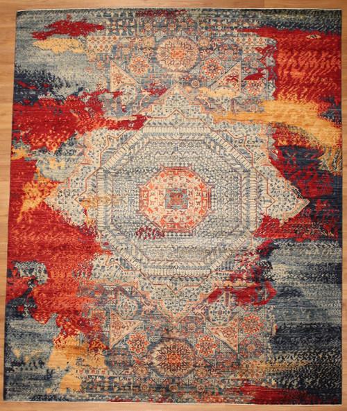 Modern design rug 8' X 9'8