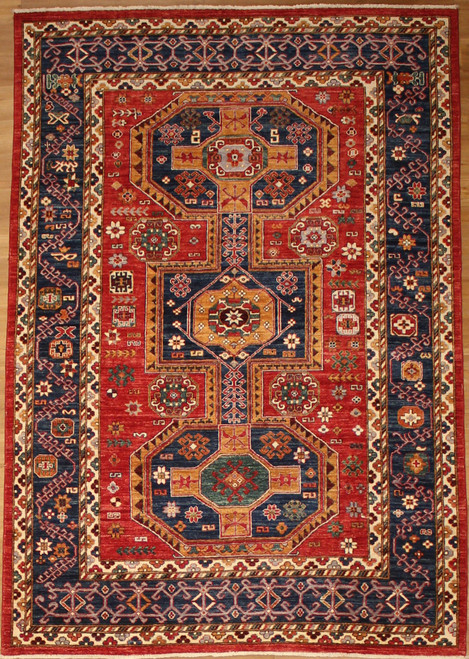 Caucasian design 6'2 x 9' carpet