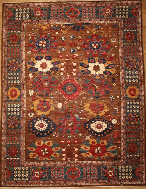 Overall design rug 9'2 X 12'