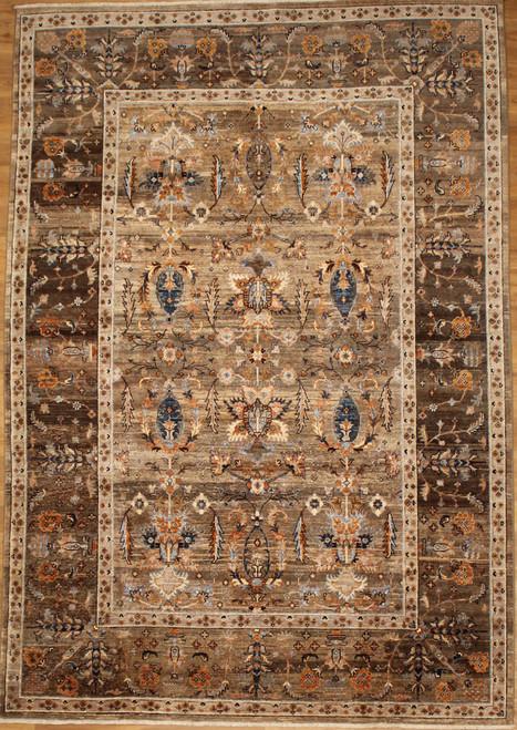 Gray color carpet 6'8 x 9'9