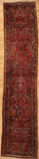 "Antique Persian Sarough runner 2'7 X 12"""