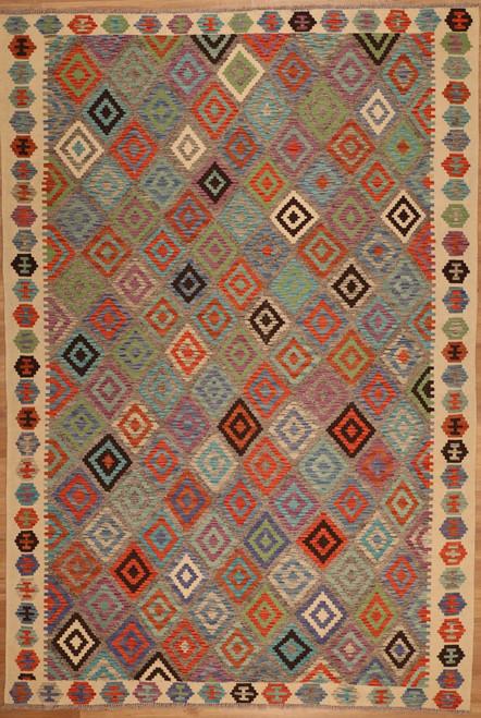 Maimana kilim rugs 6'10 X 10'