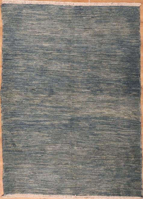 Solid color modern design rug 4'6 X 6'5