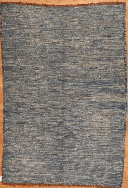 Solid color modern design rug 4'7 X 6'7
