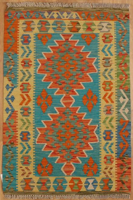 Small Maimana Kilim rug 2'9 X 4'1