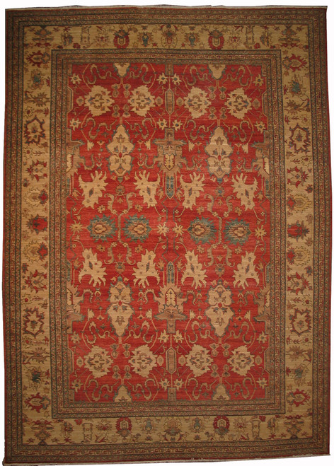 "10'3"" X 14'3"" Afghan Sultanabad design"