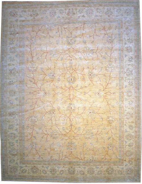 "Hand woven 9'1' X 11'11""  Pakistan Mahal design rug"