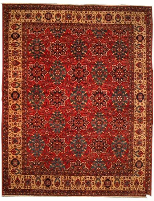 """9' X 11'7"""" Afghan Bamiyan"""