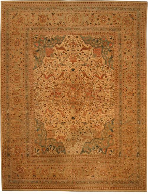 """8'11"""" X 11'8"""" Afghan Nooristan rug"""