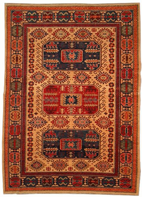 "6'2"" X 8'8"" Afghan Tribal Rug"