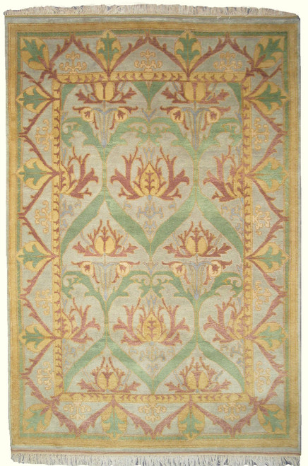 6' x 9' Arts and Craft design rug
