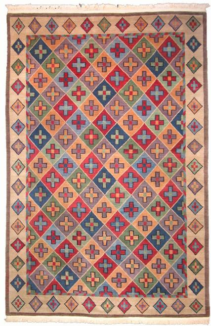 Contemporary Tibetan design rug
