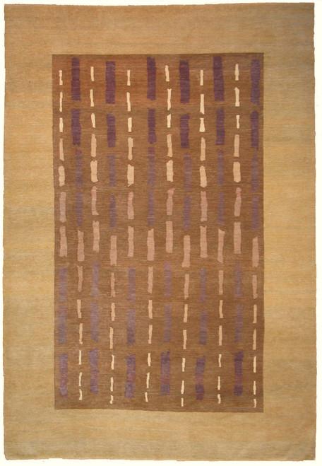 Modern design rug 6'1 x 8'11