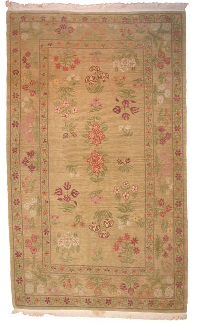 Tibetan Meadow Flowers rug