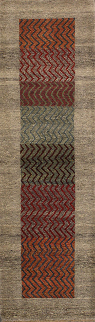 Contemporary Indian Runner rug