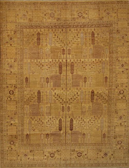 room size light color rug