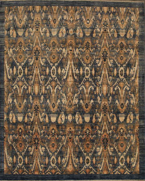 """7'11"""" x 9'9"""" Afghan Rug"""