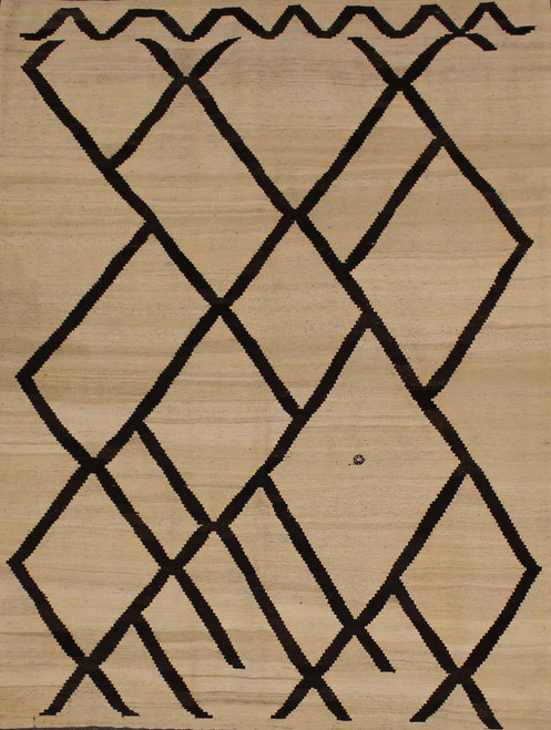 hand woven Mongolian Kilim rug