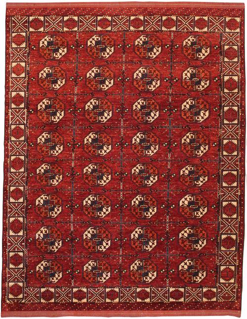 8' x 10' Handmade Afghan Rug