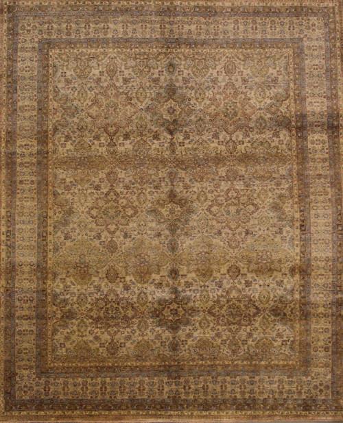 8' x 10' Handmade Indian Rug