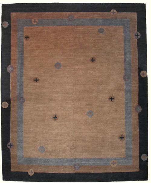8' x 10' Handmade Tibetan Rug