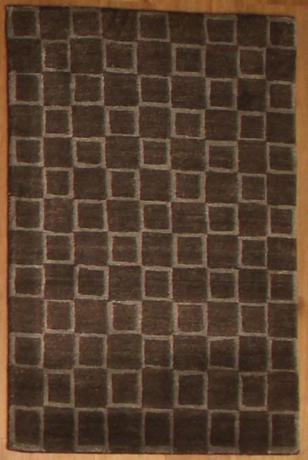 Handmade Tibetan Cube Rug 2' x 3'